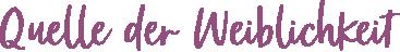 Quelle der Weiblichkeit Logo